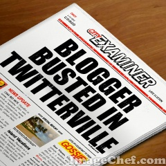 Tabloid blogger busted
