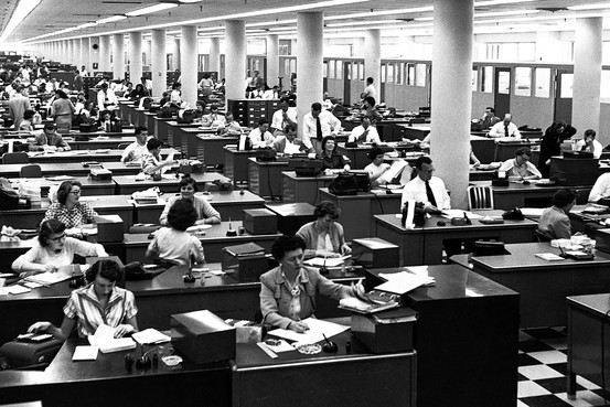Office pool 1950s