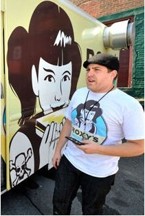 Food truck_james and truck