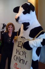Toby and chick fil_a cow