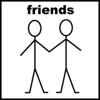 Friends_stick figures
