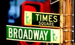 Broadway Blogging